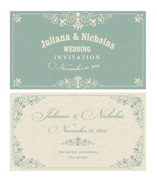 320x368 Invitation Card Free Vector Download (12,978 Free Vector) For