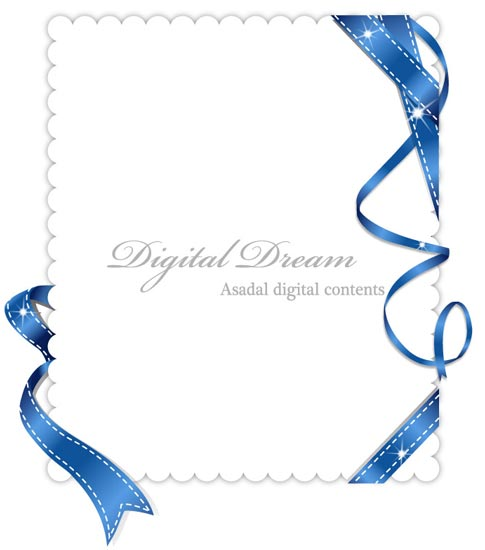 485x550 Invitation Cards Design With Ribbons