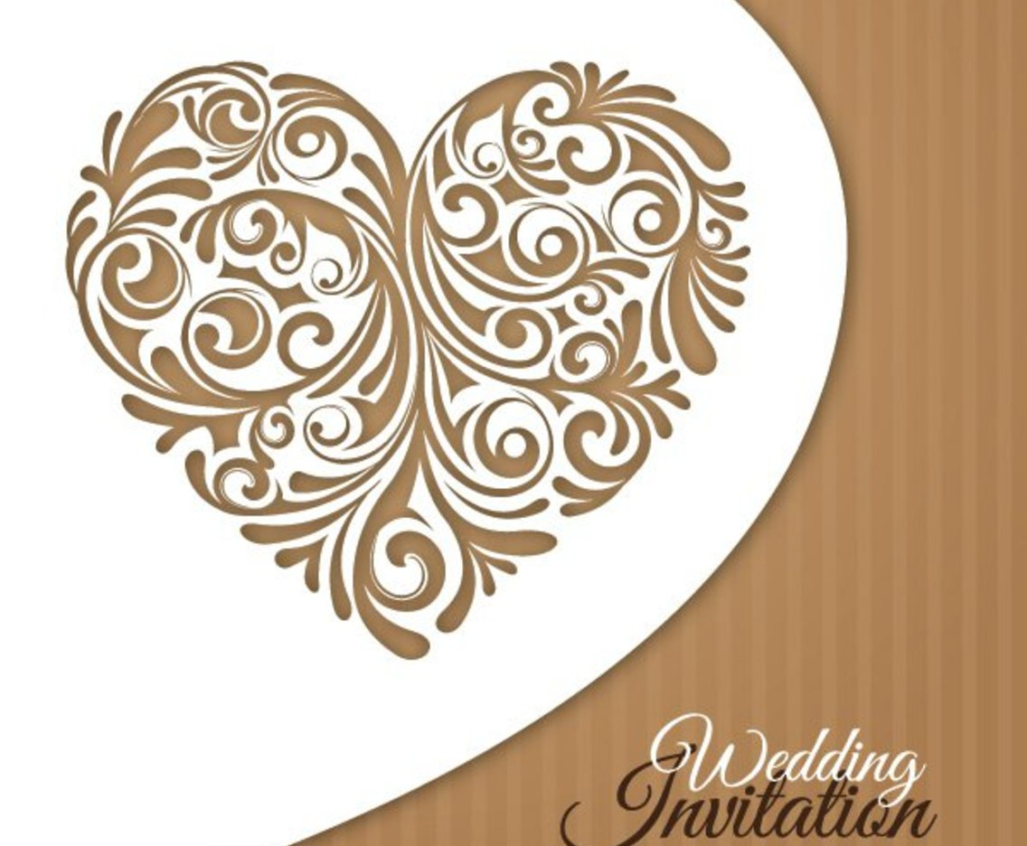 1136x936 Wedding Invitation Card Vector Art Amp Graphics