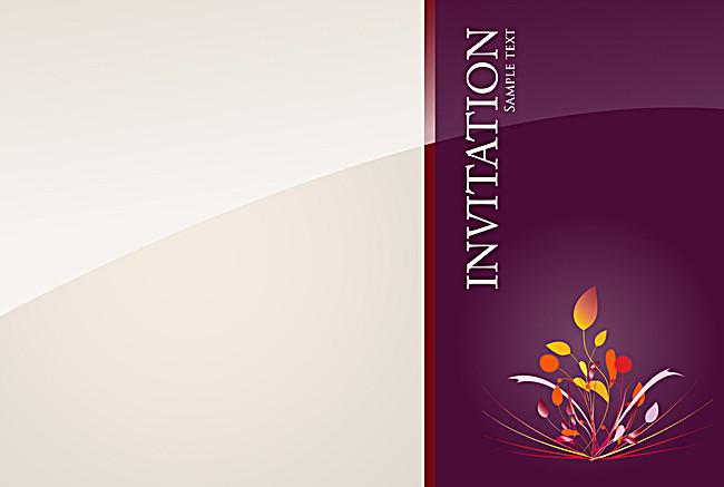 650x437 Background Wedding Invitation Card Design Vector Background