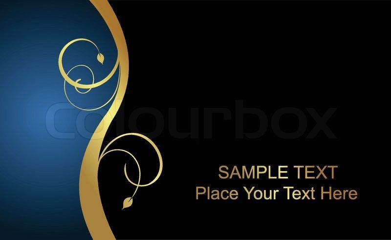 800x491 Vector Beautiful Luxury Card Or Invitation Stock Vector Colourbox