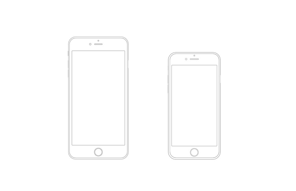 Iphone 6 Vector