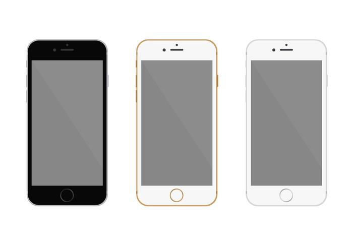 700x490 Free Flat Iphone 6 Vector