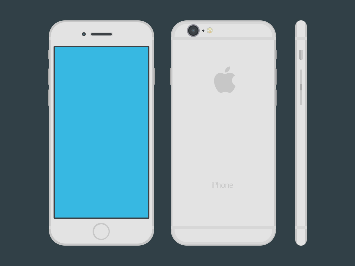 1200x900 Images Of Flat Iphone Vector