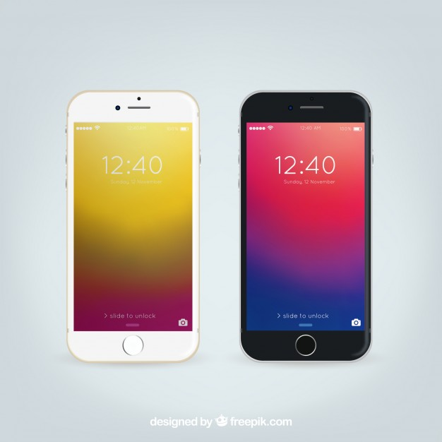 626x626 Iphone 6 Realistic Mockup Vector Free Download