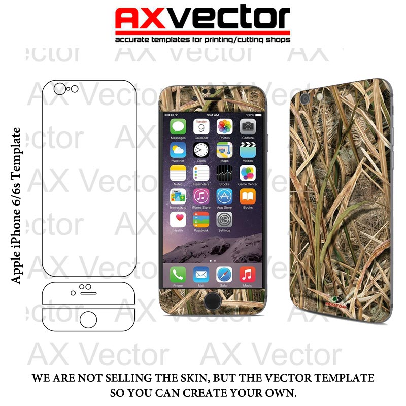 800x800 Iphone 6 6s Vector Template