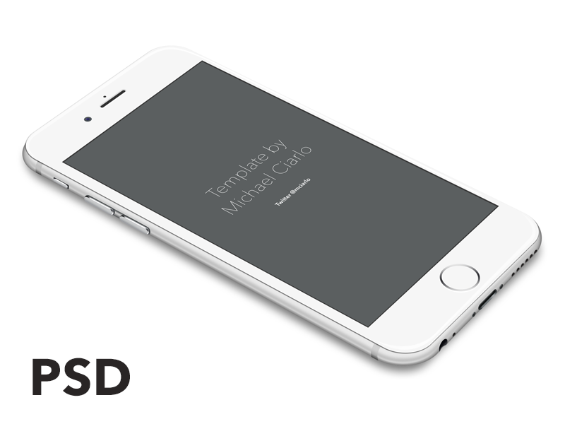 800x600 Iphone 6 Vector [Psd] By Michael Ciarlo