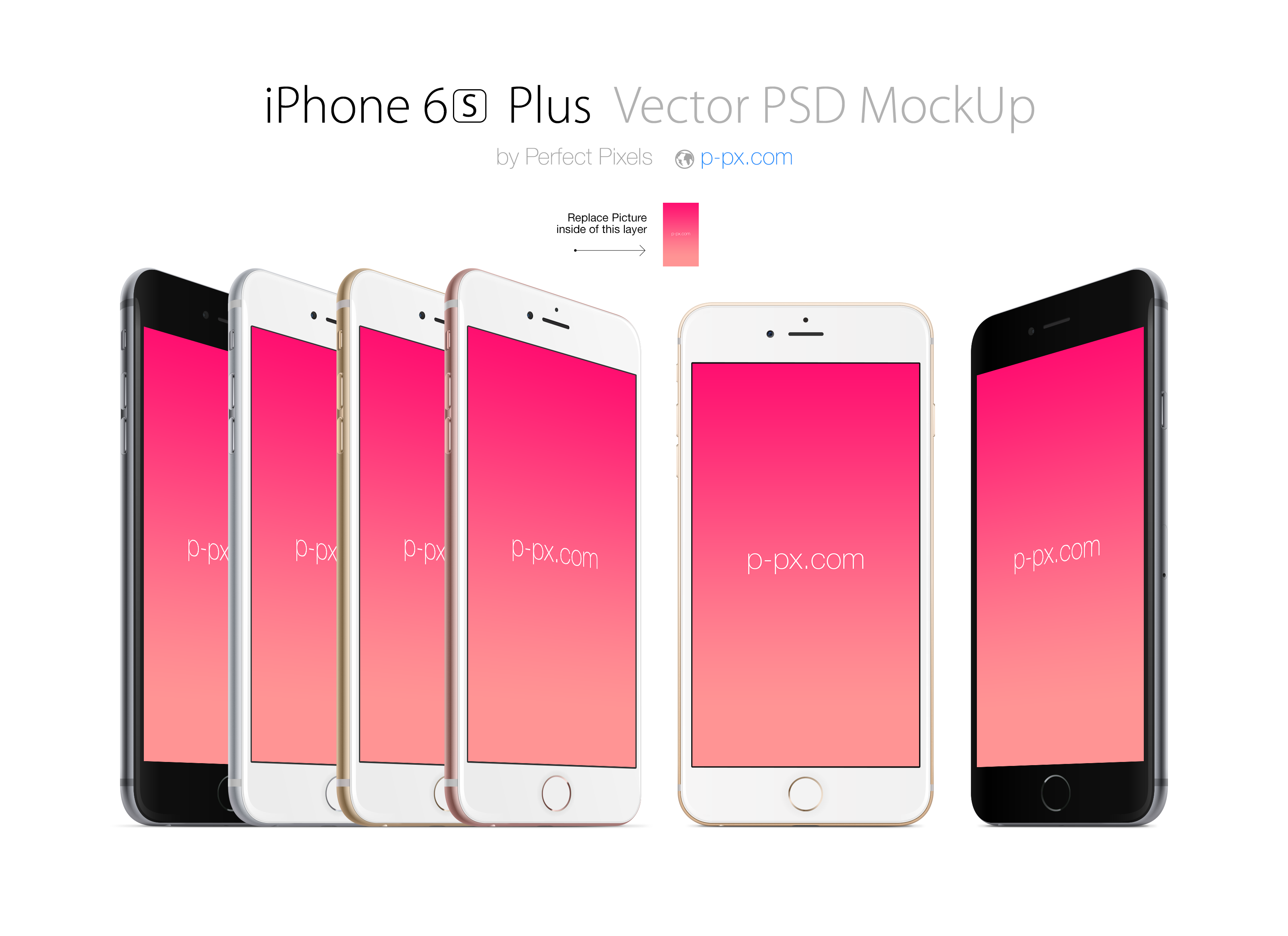 3233x2350 Iphone 6s Plus Front And Angled Psd + Ai Vector Mockup. Perfect