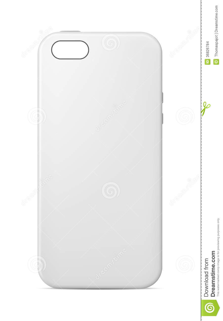 903x1300 Phone Case Template Vector Illustration Blank Mobile 36826784