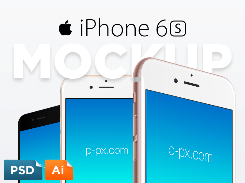 800x600 Iphone 6s Free Vector Psd + Ai Template By Perfect Pixels