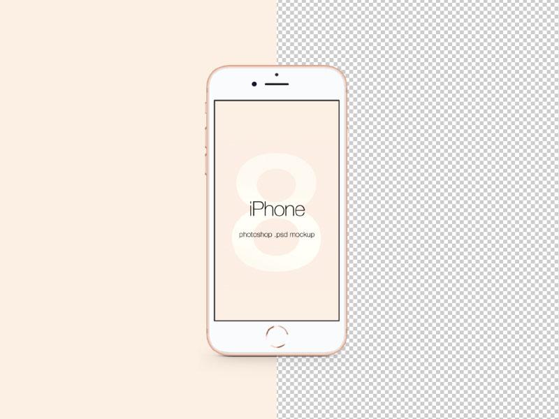 800x600 Iphone 8 Psd Mockup By Wassim