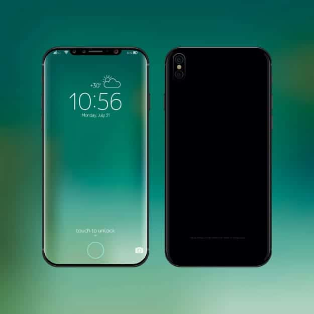 625x625 Iphone 8 Smartphone Realistic Vector Illustration New Frameless Ss