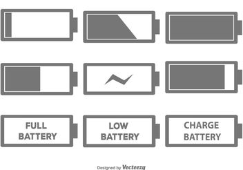 352x246 Free Battery Icon Vector Free Vector Download 233209 Cannypic