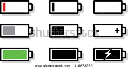 450x242 8 Cell Phone Battery Icon Images