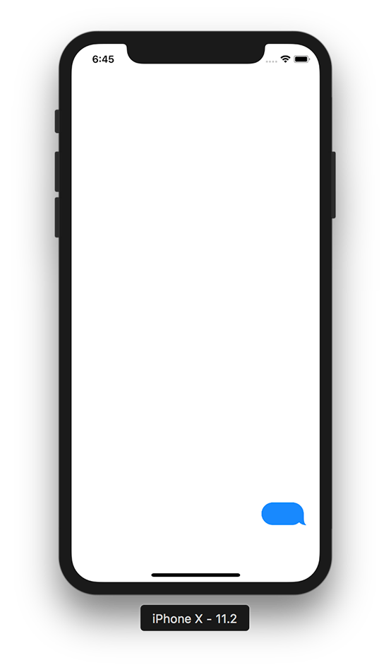 554x948 Creating A Chat Bubble Which Looks Like A Chat Bubble In Imessage