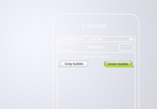 528x368 Free Psd Chat Bubbles Free Psd Download (60 Free Psd) For