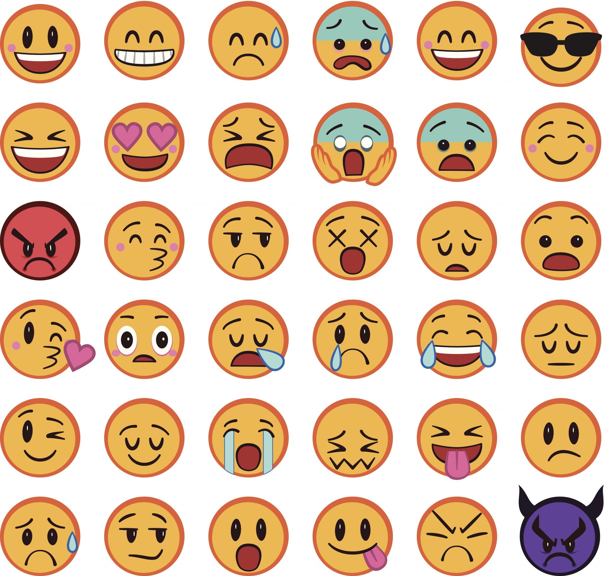 Iphone Emoji Vector