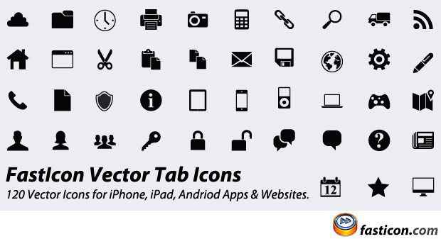 620x337 120 Vector Icons 120 Vector Icons For Iphone, Ipad,