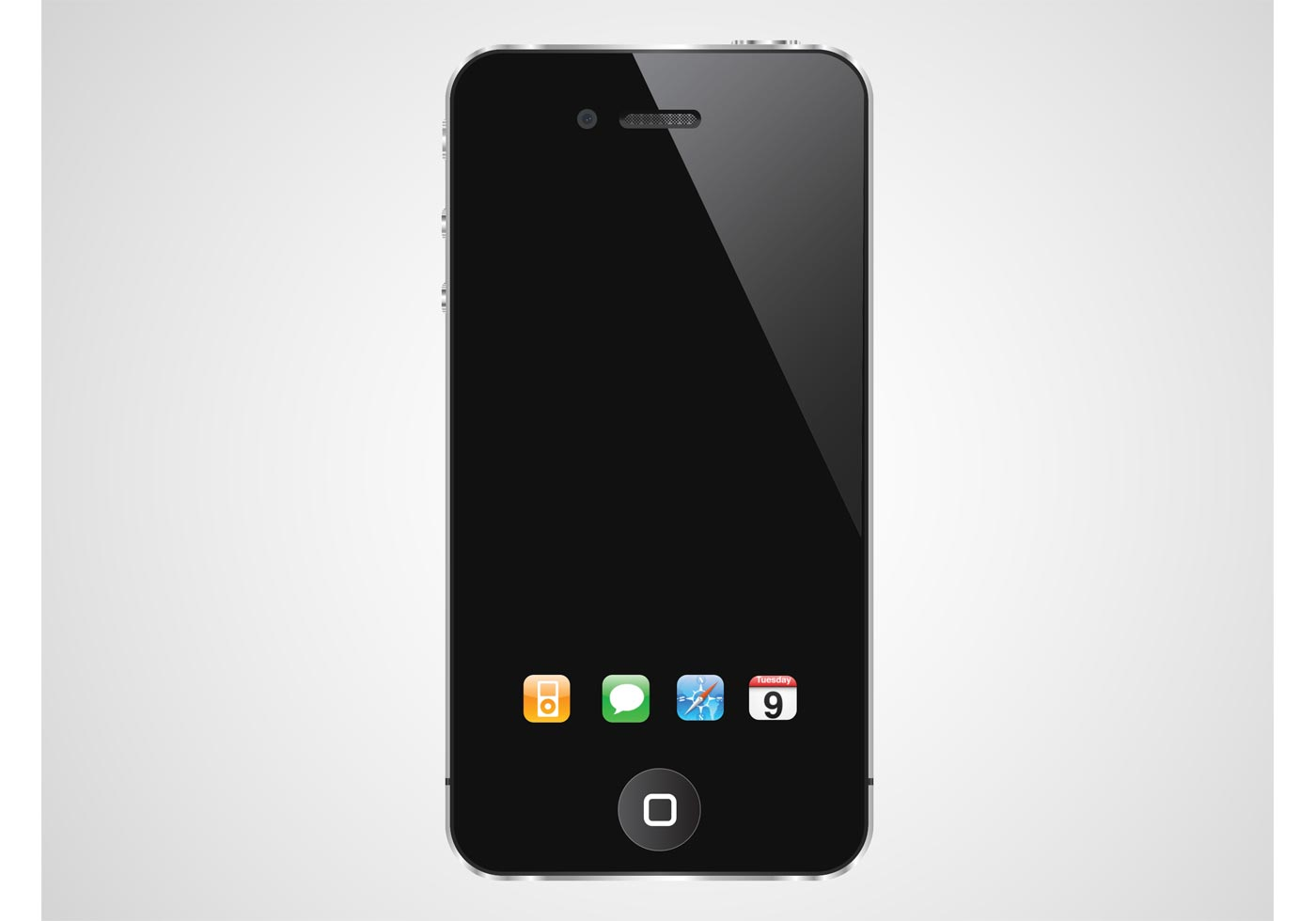 1400x980 Iphone Icons Free Vector Art