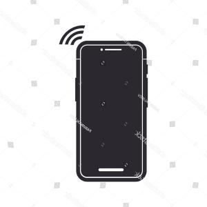 300x300 Iphone X Vector Icon Cell Phone Lazttweet