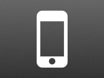 400x300 Iphone Vector Icon By Christopher Casper
