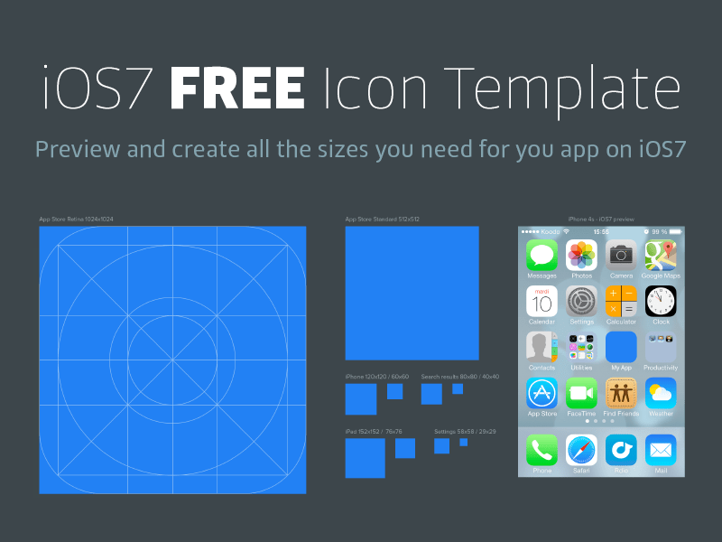 800x600 Best Ios App Icon Templates To Create Your Own App Icon