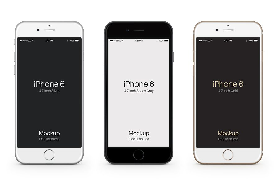 Iphone Outline Vector