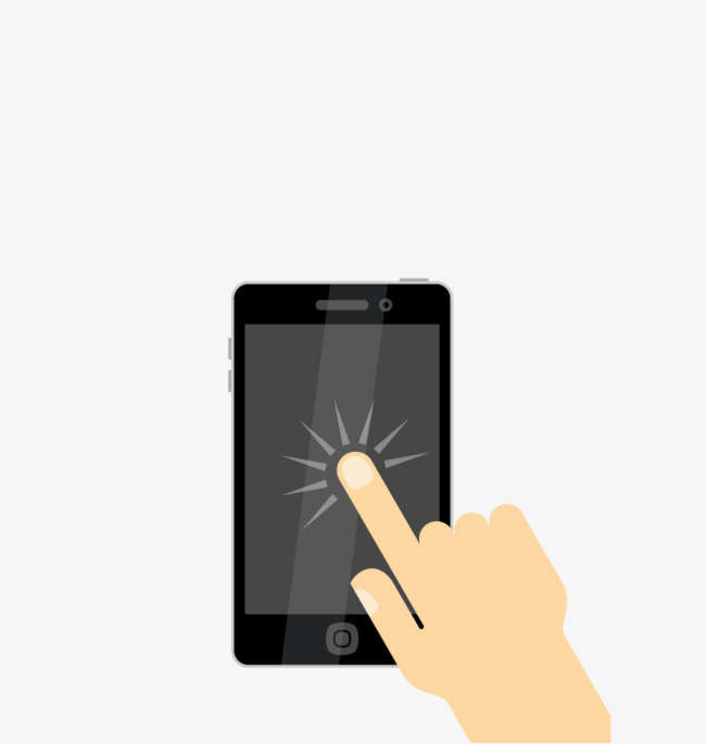 650x685 Vector Touch Screen Mobile Phone, Hd, Vector, Black Phone Png And