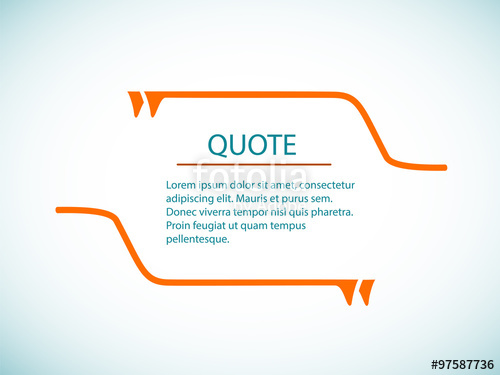 500x375 Text Bubble Template Quote Text Bubble Quote Template Vector Cloud