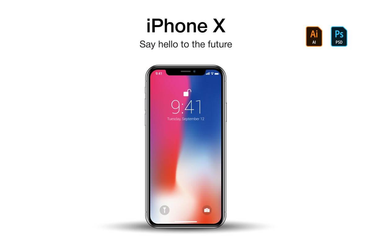 1200x800 Free Iphone X Vector