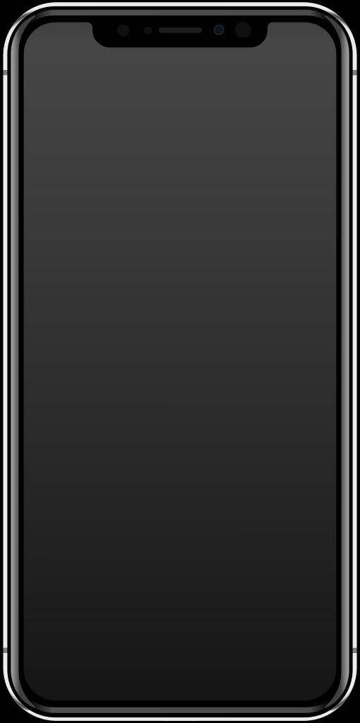 510x1023 Fileiphone X Vector.svg