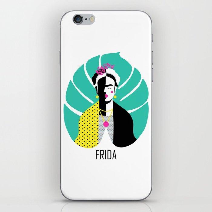 700x700 Frida Vector Art Iphone Skin By Sgrunfo Society6