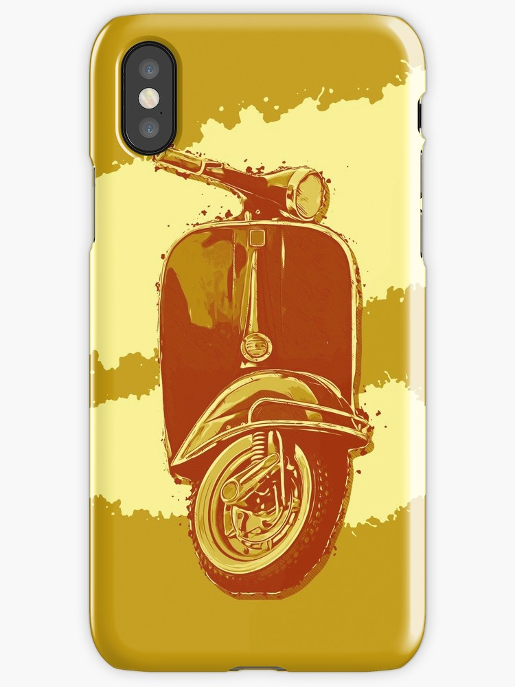 750x1000 Vector Art Of A Vintage Scooter. Iphone Cases Amp Covers By