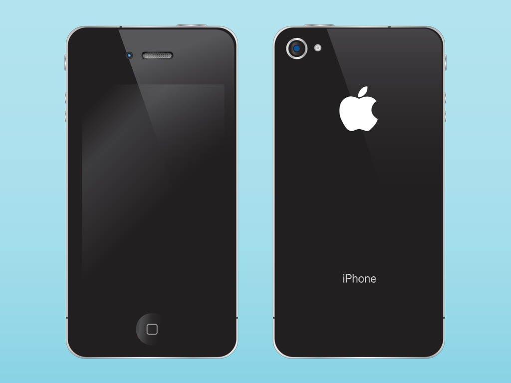 1024x768 Apple I Phone Illustration Vector Art Amp Graphics