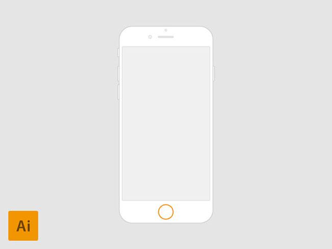 650x488 Iphone 6 Vector Wireframes