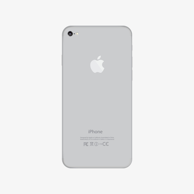 650x651 Gray Apple Phone Back, Gray, Iphone, Vector Png And Vector For