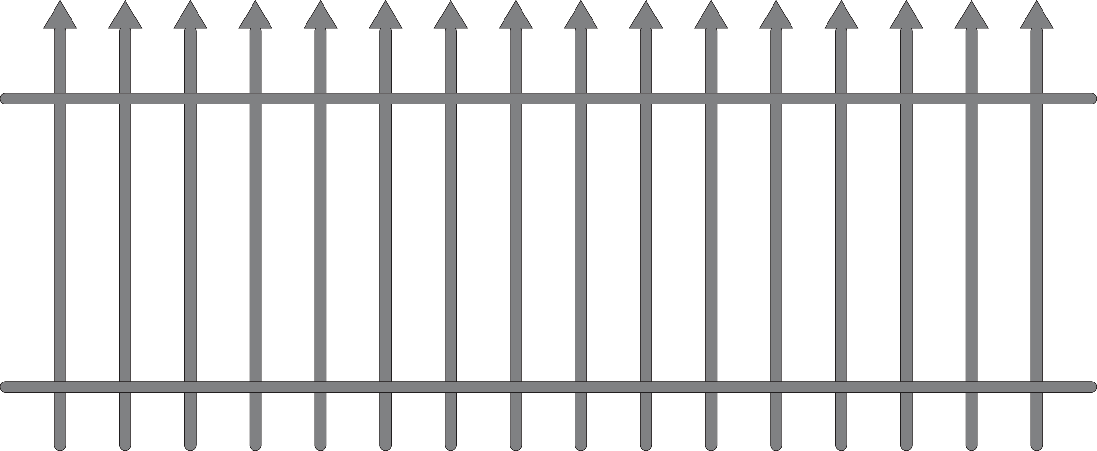 Iron Fence Vector