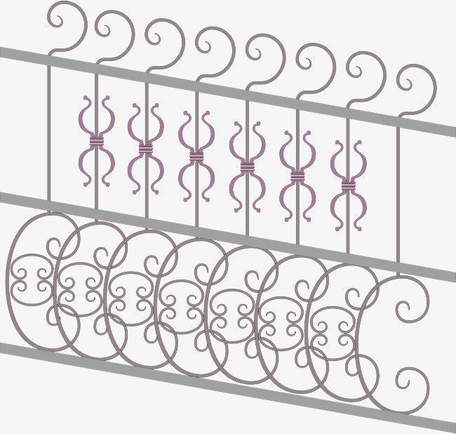 650x618 Iron Fence Vector, European Fencing, Vector Diagram, Iron Png And