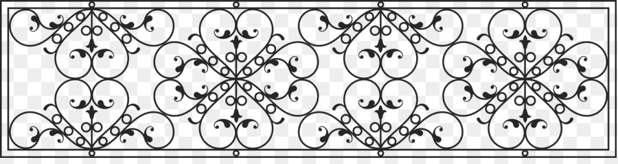 900x240 Download Iron Euclidean Vector Fence Continental Iron Fence Vector