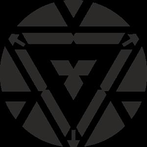 300x300 Iron Man Angler Reactor Logo Vector (.cdr) Free Download