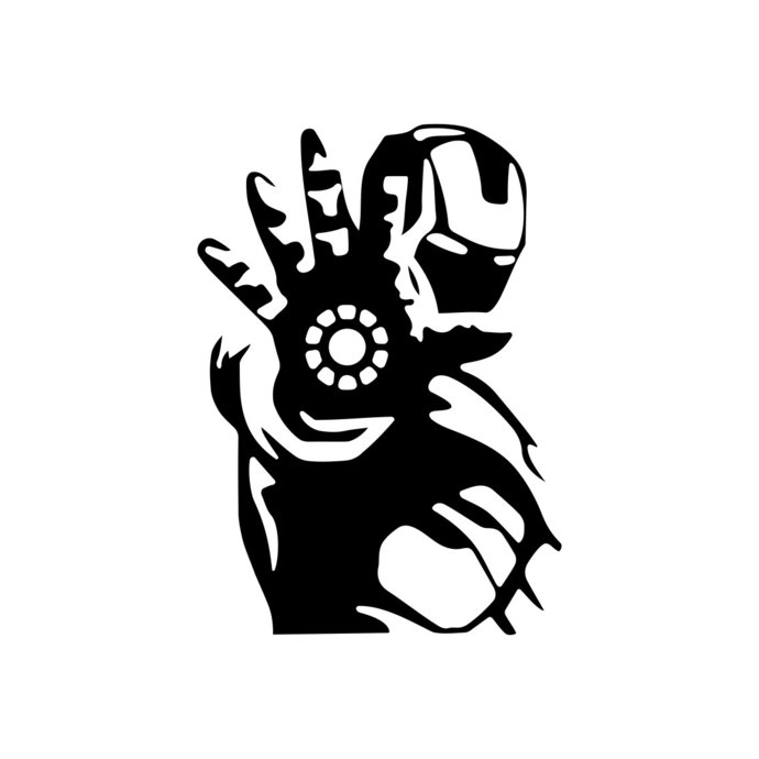 690x690 Iron Man Marvel Avengers Superhero Graphics By Vectordesign On Zibbet