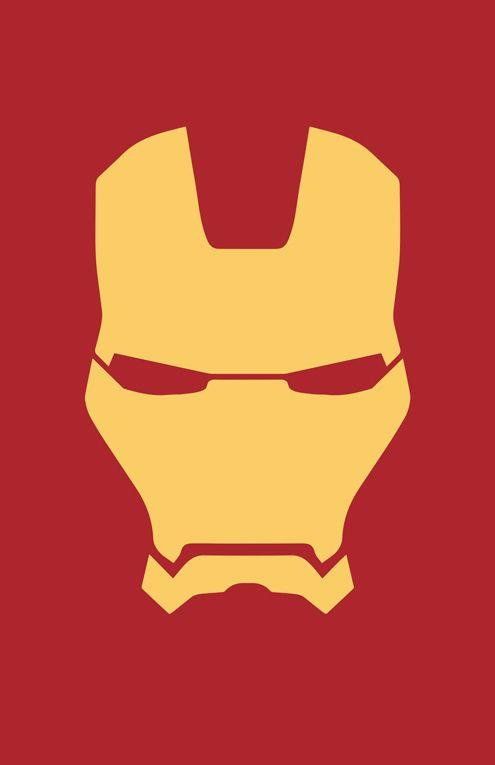 495x765 Iron Man Canvas