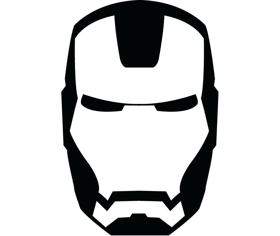 900x760 Iron Man Logo