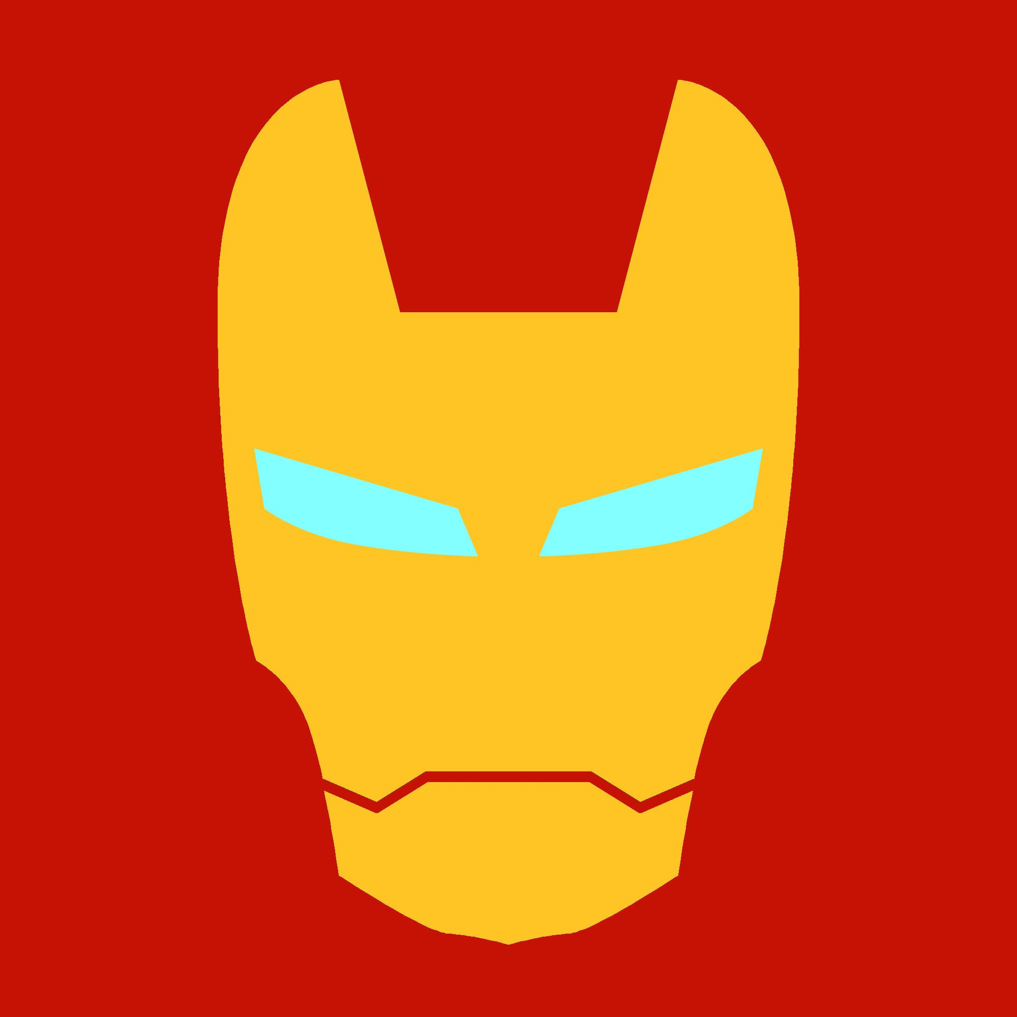 2000x2000 Iron Man Logo Vector Art By Techhead55 Superhero