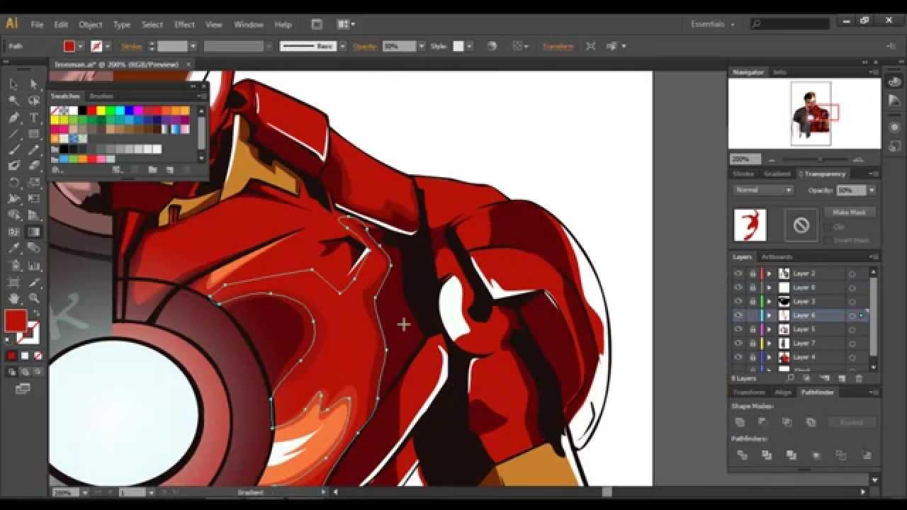 1280x720 Iron Man