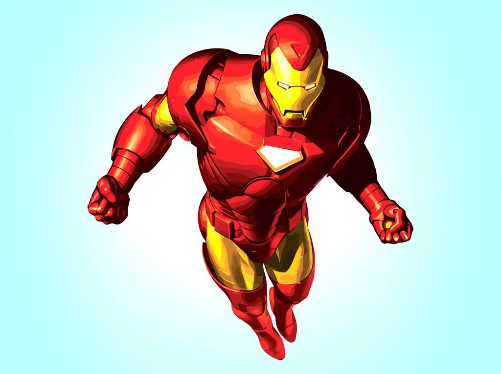 1024x765 Iron Man Vector Art Amp Graphics