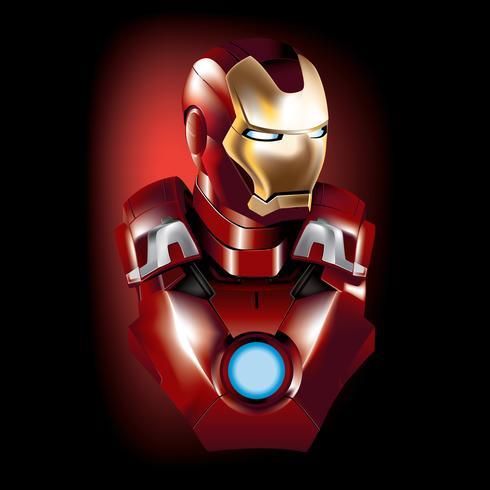 490x490 Iron Man Vector Superhero