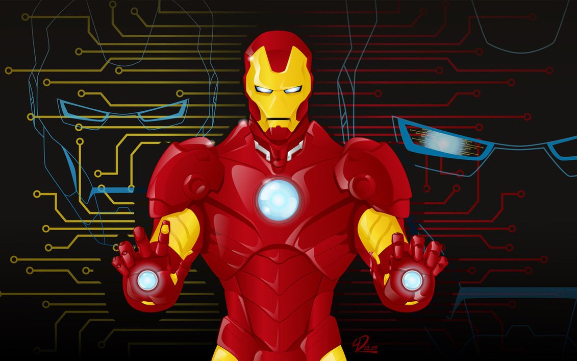 1131x707 Iron Man Vector By Yulaydevlet