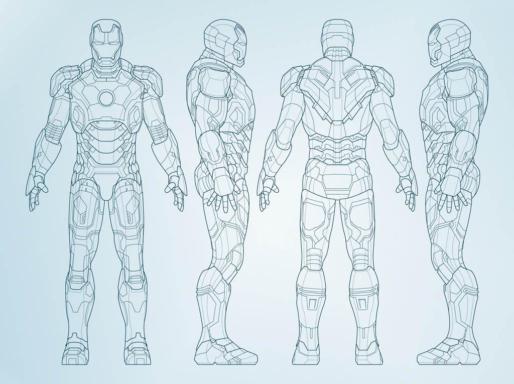 1024x765 Vector Iron Man Vector Art Amp Graphics