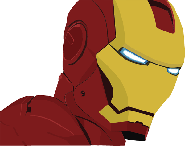 600x473 Vector Iron Man On Behance
